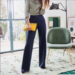 Ralph Lauren Black Label Mid Rise Flare Leg Pants